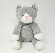 Ty Pluffies 2008 Pursley Grey White Kitty Cat Stuffed Animal Plush Toy Sewn Eyes - $73.87