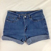 Levi's 505 Distressed Lower Rise Denim Cut Off Jean Shorts Size 10 Miss M - $18.69