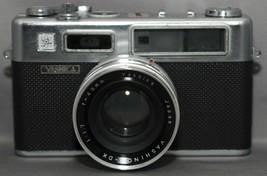 YASHICA ELECTRO 35 Rangefinder Film Camera YASHINON-DX f/1.7 45mm Lens J... - $38.70