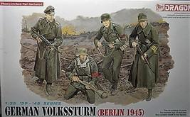 Dragon Models  1/35 kit 6020  WW2 German Volkssturm Berlin 1945 image 1