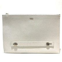 AUTHENTIC UNUSED FURLA Clutch bag White Leather - £144.01 GBP