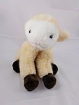 "Ganz Bros LUCY LAMB Plush 9"" 1998 Stuffed Animal toy - $8.75"