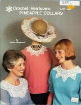 Crochet Heirlooms Pineapple Collars LPC 301 for Tops Hats & More - $10.39