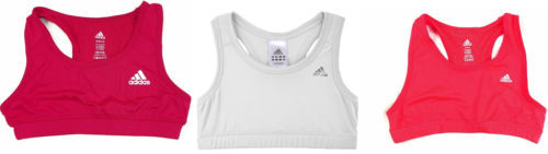 Girl's Large 14 Solid Sports Bra adidas TechFit Performance Wire Free ClimaLite