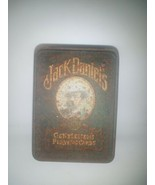 2 sets of Jack Daniels Gentleman's Playing Cards & Tin. Tin is rusted. C... - $9.89