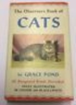 The Observer's Book Of Cats (Grace Pond - 1965) - NICE - $13.44