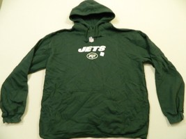 M75 NEW REEBOK New York Jets Hooded Hoodie Sweatshirt Jacket  MEN'S 2XL  - €23,50 EUR