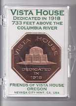 VISTA HOUSE Oregon Dedicated 1918 Token - $19.95
