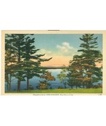 Greetings from Lake Sunapee, New Hampshire, unused linen Postcard  - $4.99