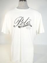Polo Ralph Lauren Signature Vintage White Short Sleeve Tee T Shirt Mens NWT - $59.99