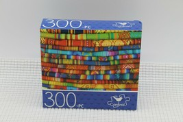 NEW 300 Piece Jigsaw Puzzle Cardinal Sealed 14 x 11, Andean Textiles - $4.45