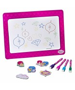 Shimmer & Shine Magnetic Dry Erase White Board for Kids Educational with... - $18.79