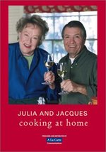 Julia Child & Jacques Pepin Cooking at Home 4 DVD Set pbs tv how to - $24.95