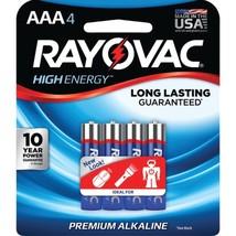 RAYOVAC 824-4J AAA Alkaline Batteries (4 pk) - $19.33
