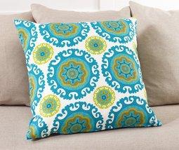 """Fennco Styles Kaleidoscope Style Down Filled Throw Pillow - 2 Sizes (21""""... - $42.56"""