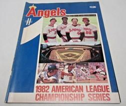 California Angels 1982 American League Championship Series Magazine - $9.78
