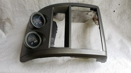 07-09 Nissan Sentra SE-R Spec-V Dash Stereo Surround Oil & G-Force Gauge Pod image 2