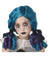 California Costumes Clowny Kid Curls Circus Wig Girl's Halloween Costume... - £13.23 GBP