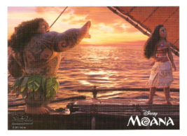 Moana Lithograph Disney Movie Club Exclusive New - $11.99