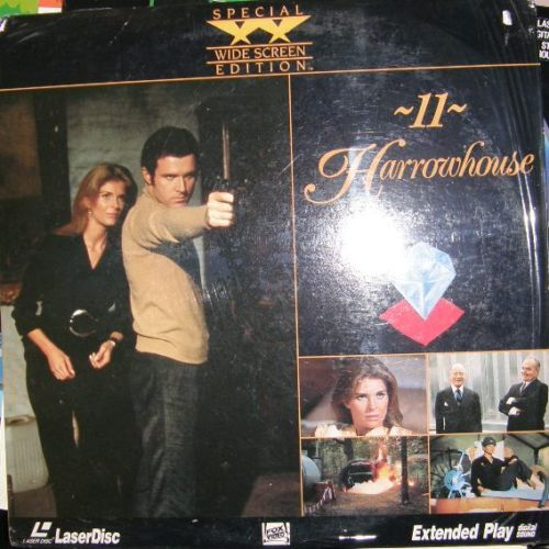 11 Harrowhouse Laserdisc  Not on DVD Bonanza
