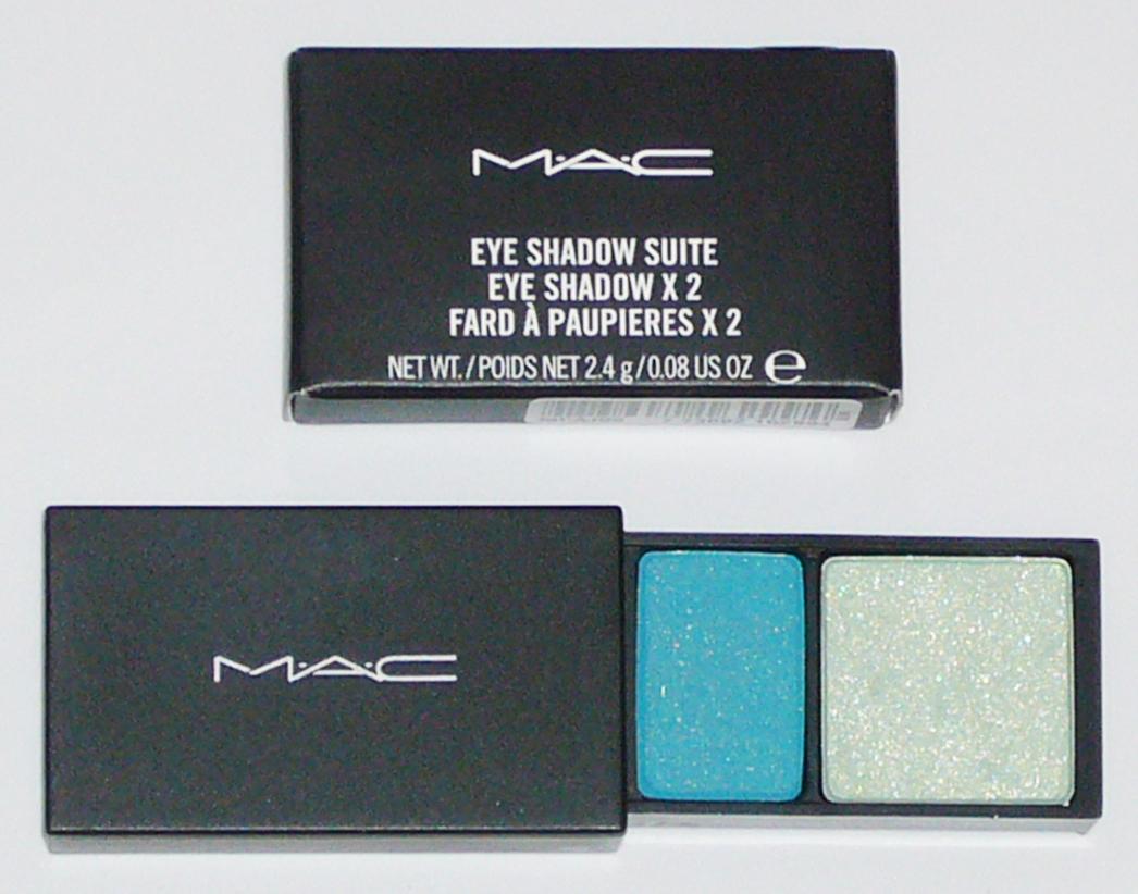 MAC Cosmetics Eye Shadow Duo Suite - Shallow V. Deep Green B Bonanza