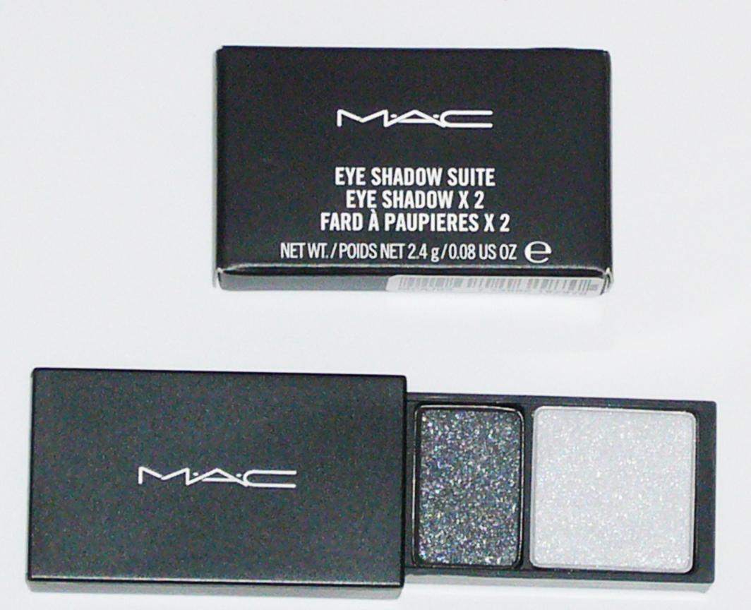 MAC Cosmetics Eye Shadow Duo Suite - Smoke & Ash Silver Bonanza