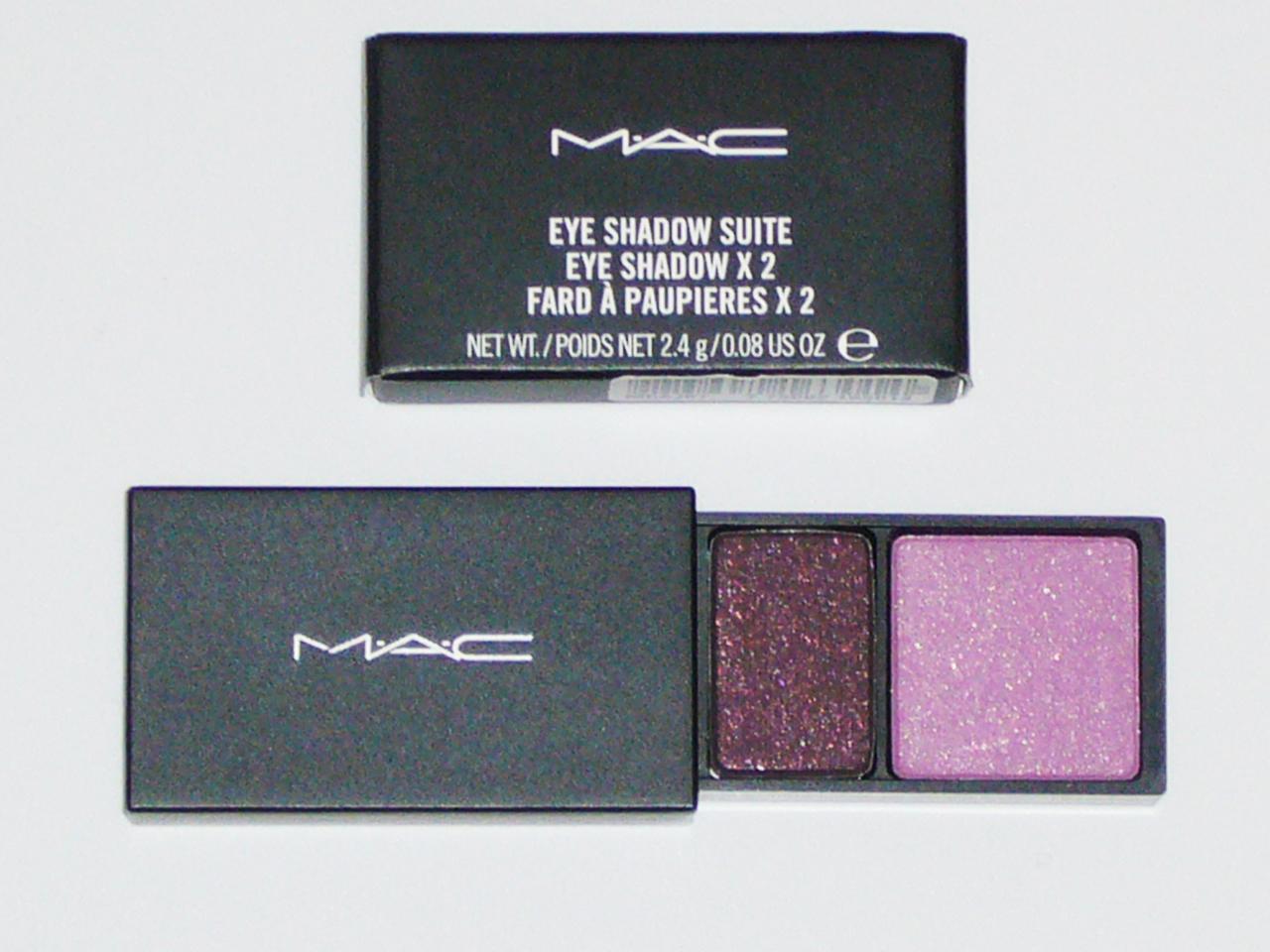 MAC Cosmetics Eye Shadow Duo Suite - Team Violets Purple Bonanza