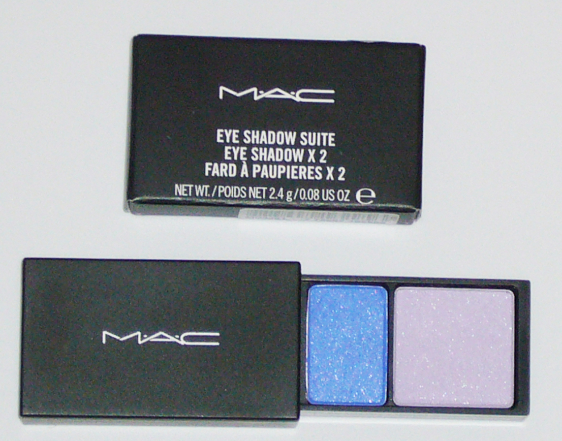 MAC Cosmetics Eye Shadow Duo Suite - Blue Zone Bonanza