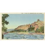 Holy City, Shoshone River, Cody Highway, unused linen Postcard  - $5.99