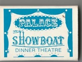 Vtg Strike on Match Box with local ad & sticks ~ Palace Showboat Dinner ... - $9.89