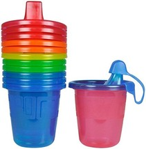 The First Years Take & Toss Spill-Proof 7 Ounce Cups 6 ea Assorted Colors - $13.74