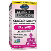 Garden of Life Dr. Formulated Probiotics for Women, Once Daily Women's Probiotic - $35.93