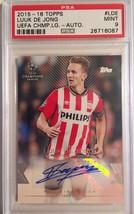 2015-16 Topps UEFA Champions League Soccer Autographed Luuk De Jong PSA ... - $19.34