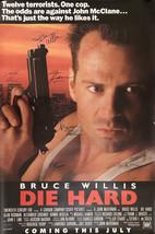 Die Hard Signed Movie Poster - $180.00