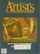 The Artist's Magazine Vintage Back Issue Januar... - $8.00