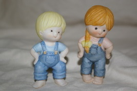 COUNTRY COUSINS Scooter & Katie Standing Figurines - $9.99