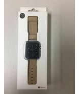 Genuine Monowear Watch Band for Apple Watch 38mm Beige MWLTBE20MTSI - $12.60