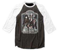 Kiss-Glitter 76-X-Large Raglan Baseball Jersey T-shirt - $28.05