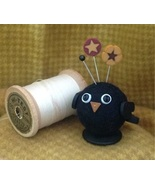 Bobbi Blackbird Button Buddies pincushion kit JABC Just Another Button  - $22.95