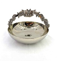 Vintage Silver Plated BonBon Candy Basket Bowl Dish Wedding Anniversary ... - $49.99