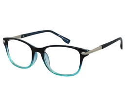 EBE Bifocal Reading Glasses Mens Womens Retro Style Black Blue Silver Deco - $24.93