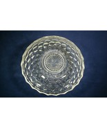 Vintage Fostoria American Clear Pressed Glass Round Bowl Black Light Tested - $249.99