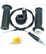 For Mini Baja Mb165 Mb200 Doodlebug Bike Throttle Handle Grips  Cable Ki... - $18.32