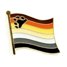 Bear Drapeau Fierté Épinglette 1.3cm Épingle à Cravate Badge Lgbt Gay - $4.87