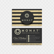 Monat Business Card, Glitter Personalized Monat Business Cards, Monat MN137 - $9.99