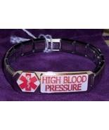 Medical Alert - High Blood Pressure Bracelet - Modular Italian Charms fi... - $9.99