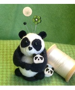 Pin Pin Panda Button Buddies pincushion kit JABC Just Another Button  - $29.70