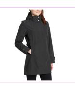 Women's Kirkland Signature Waterproof Wind Resistant Hooded Rain COAT S/... - $79.99
