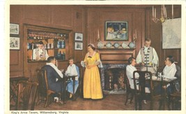 King's Arms Tavern, Williamsburg, Virginia, 1952 used Postcard  - $4.99