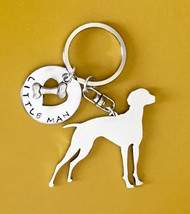 Vizsla Custom Dog Keychain.  Dog breed Jewelry.  Memorial. Hungarian pointer - $18.00